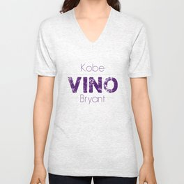 VINO (Purple) Unisex V-Neck