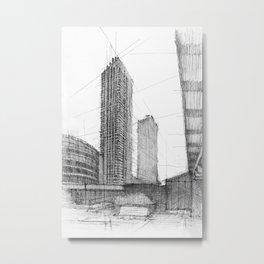 Barbican London 1 Metal Print