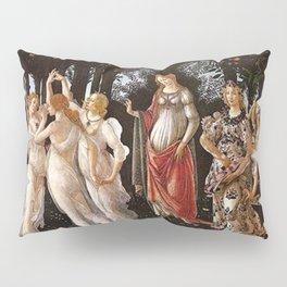Primavera Painting by Sandro Botticelli Pillow Sham