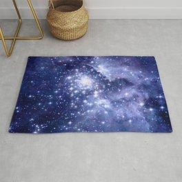 Cobalt Dreams, Universe Stars Space Nebula Rug