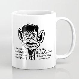 Stephen Hawking on The Enemy of Knowledge Coffee Mug