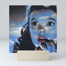 Judy in Clouds II Mini Art Print