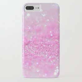 Sparkling Baby Girl Pink Glitter Effect iPhone Case