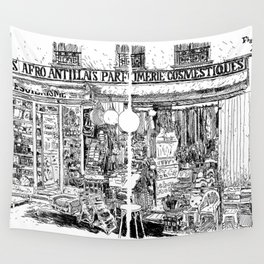 Faubourg du Temple Wall Tapestry