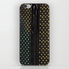 Zipper iPhone & iPod Skin
