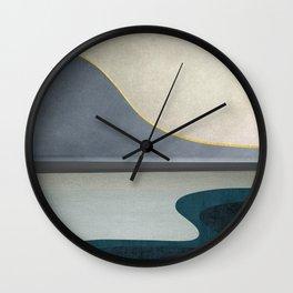 Minimal Landscape 05 Wall Clock