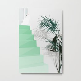 House of the cat Metal Print
