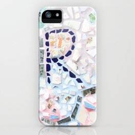 Centered, Mosaic. iPhone Case