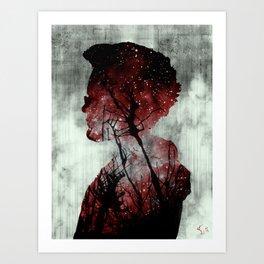 Portrait 3 Art Print