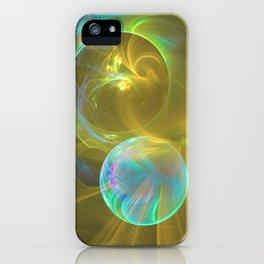 Eclipsing Spheres iPhone Case