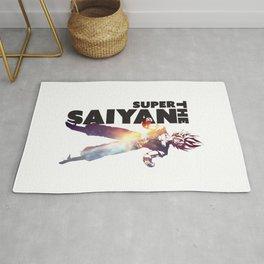 Super Saiyan Goku Art Decal Rug