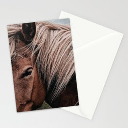 horse by Nik Shuliahin Stationery Cards
