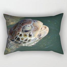 Sea Turtle - Grand Cayman Rectangular Pillow