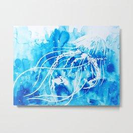 Jelly Embrace Metal Print