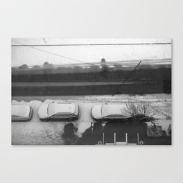 341_Parked Canvas Print