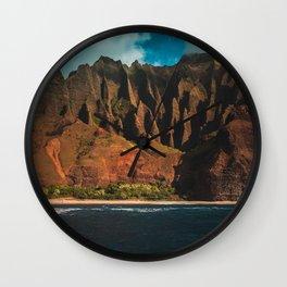 Kalalau Trail Wall Clock