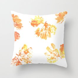Autumn leaves 11 Throw Pillow
