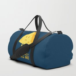 It ain't easy being cheesy Duffle Bag