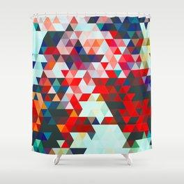 Geometrico #geometrical #abstract Shower Curtain
