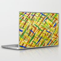 the strokes Laptop & iPad Skins featuring brush strokes by littlesilversparks