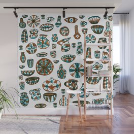 New Mexico Pottery Wall Mural