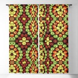 Apples Pattern Blackout Curtain