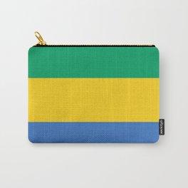 Gabon Flag Carry-All Pouch