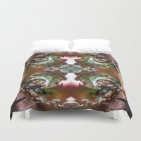 sublime Duvet Covers featuring Sublime Chaos by Robin Curtiss