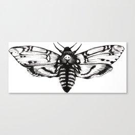 Acherontia Canvas Print