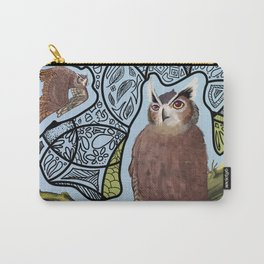Great Horn Owl Carry-All Pouch