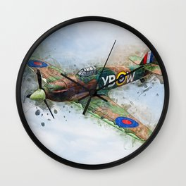 Hawker Hurricane Mk II Wall Clock