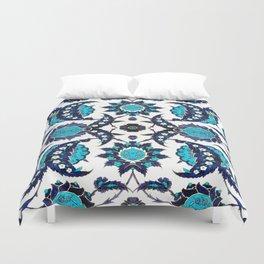 Floral Fabric Vintage Gift Pattern #6 Duvet Cover