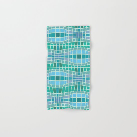 Protrusion and retraction - Optical Game 18 Hand & Bath Towel