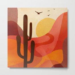 Hot Desert Day 4 Metal Print