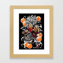 Earth Defender Framed Art Print