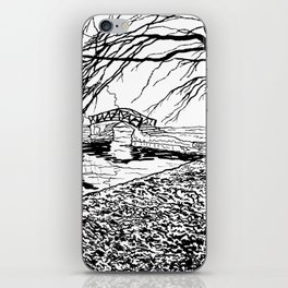 Et le jardin apparut  / And the garden appeared iPhone Skin