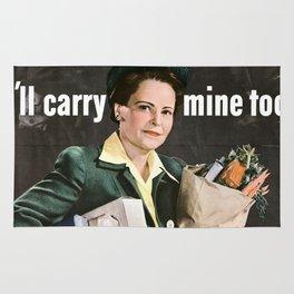 I'LL Carry Mine Too Rug
