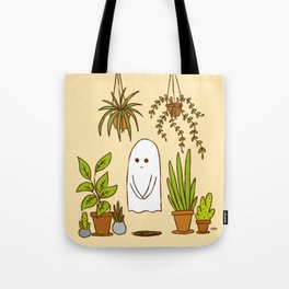 Ghostly Garden Tote Bag
