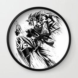 Ink Attack Wall Clock