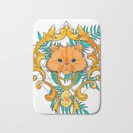 Chichi, the cat Bath Mat