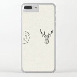 Animals of the Realm Clear iPhone Case