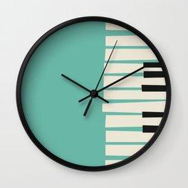 Vintage poster-Jazz festival-Willisau 76 year. Wall Clock