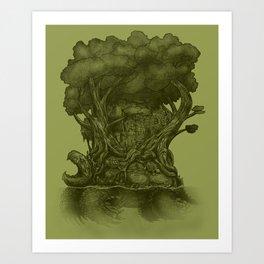 Atlas Art Print