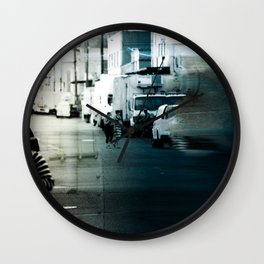 City Stripes Wall Clock