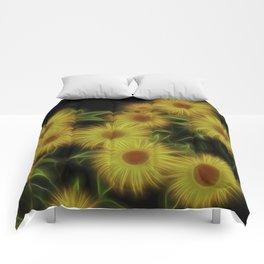 Fractal Doronicum Caucasicum's Comforters