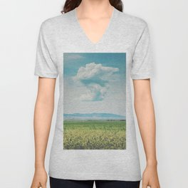 Abstract Formations Unisex V-Neck