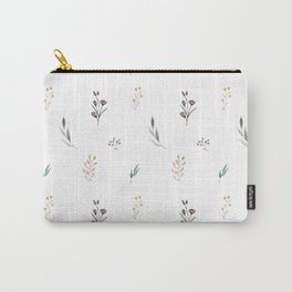 Little botanics pastel pattern Carry-All Pouch