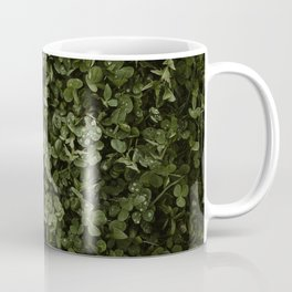 Clover with Rain Drops Coffee Mug