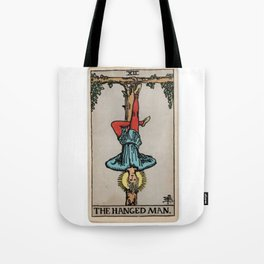 12 - 	The Hanged Man Tote Bag