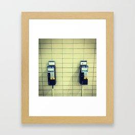 Call MTL Framed Art Print